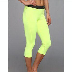 🦋Nike Pro Neon Yellow Leggings